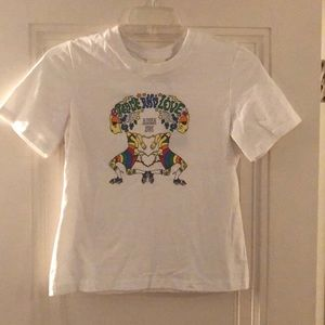 "Anna Sui ""Peace and Love"" t-shirt NWT size M"